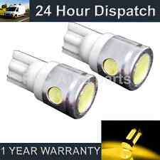 2X W5W T10 501 XENON AMBER 3 LED SMD SIDELIGHT SIDE LIGHT BULBS HID SL101104