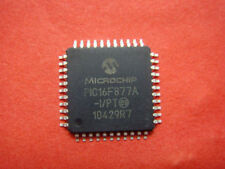 50pc Microchip PIC16F877A-I/PT USB Microcontrolle (A71) AR