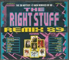 """Various Artists - remix 89 2cd boxset 80s 12"""" technotronic inner city de la soul"""