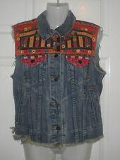 Ralph Lauren Denim&Supply Gleason wash denim vest size M RRP: 154 GBP