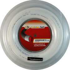 GSI Synthetic Gut 17 white tennis string - 660' Reel