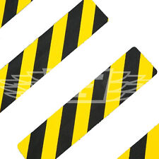 BLACK YELLOW 150mm x 600mm ANTI SLIP TAPE STAIR TREAD HIGH GRIP SELF ADHESIVE