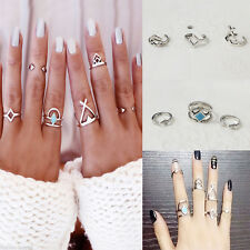6stk Set Midi Ring Fingerspitzenring Above Knuckle Nagelring Obergelenkring Mode