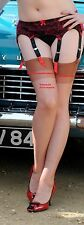 FOUR   PAIRS SHEER NYLON STOCKINGS  USA