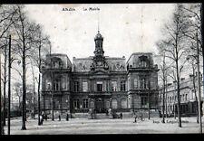 """ANZIN (59) MAIRIE animée / Commerce VITRE & PEINTURE """"Clement DUBOIS"""" en 1910"""