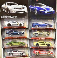 HOT WHEELS 2017 CAMARO FIFTY COMPLETE SET OF 8  COPO - PRO STOCK '67 CAMARO