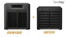 € 1982+IVA SYNOLOGY 24-Bay NAS DS3612XS + DX1215 Infiniband - 1-Year Warranty