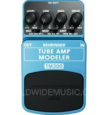 Behringer TM300 Tube Amp Modelling Guitar Effects Pedal / Stomp Box