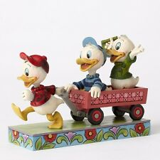 Here Comes Trouble - Huey, Dewey, and Louie Figurine by Jim Shore -4054283-NIB!