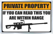PRIVATE PROPERTY FUNNY FRIDGE MAGNET NEW