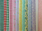 DOLLS HOUSE MINIATURE CURTAIN FABRIC MATERIAL - ONE Piece 14