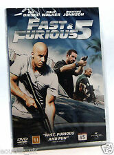 Fast & Furious 5 DVD Región 2 NUEVO SELLADO Dwayne The Rock Johnson Vin Diesel