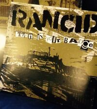 "Rancid Turn In Your Badge 7"" BLUE VINYL Record non honor is all lp songs! NEW!!+"