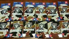Lot of 12 NFL CAMO Oakland Raiders can beer soda Koozies New  FREE SHIPPING