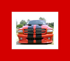 "All Year Dodge Dakota 10"" Plain Rally stripes Stripe Graphics R/T"