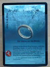 CCG 67 Lord of the Rings /Hobbit Die Zwei Türme Rare Komplettsatz deu.