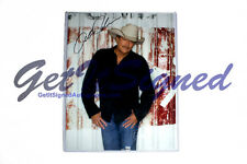 Alan Jackson signed 11x14 photo w/ proof video Certificate of Authenticity