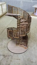 1:12 scale spiral stairs.