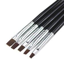 Hot! 5pcs Acrylic UV Gel Nail Art False Tips Drawing Painting Brush Pen Set DIUS