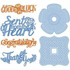 TONIC STUDIOS SENTIMENTS & TRELLIS BASE DIE SETS - NEW WITH PROJECT IDEAS