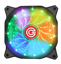 Circle CG 16X7C- Multi Colour Silent 7 Colour LED Breathing Computer Case Fan