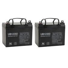 UPG 2 Pack - 12V 35AH SLA Battery for UB12350 Hoveround Activa Forerunner
