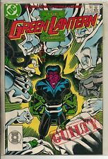 DC Comics Green Lantern Corps #222 March 1988 Sinestro NM