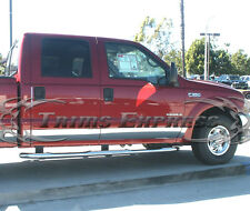"1999-2010 Ford Super Duty/F-250 Crew Cab Short Bed Rocker Panel Trim 6"" 12Pc"
