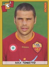 N°372 MAX TONETTO # AS.ROMA STICKER FIGURINA PANINI CALCIATORI 2008