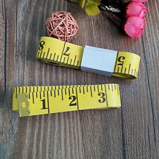 1pc Body Measuring Ruler Sewing Cloth Tailor Tape Measure Soft Flat 3M
