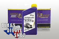 Royal Purple 01154 API Synthetic Oil 15W40 Gas & Diesel 12-Quarts FREE SHIPPING!