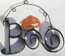 "WIRE HANGING ""BOO"" SIGN"