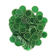 100 COUNT MAGNETIC BINGO CHIPS (GREEN)