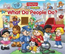 Fisher Price Little People - What Do People Do (2013) - Used - Childrens