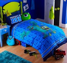 Disney Pixar Monsters University Single Bed Quilt Set Glow in the Dark    20522