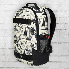 DC Shoes Rucksack Grind Backpack Board-Halter weiss schwarz Laptop Fach Notebook