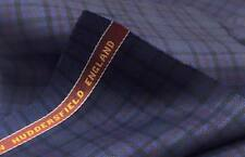 Luxury Suiting Jacketing Navy With Black/Pink 3.5 Mts Made In England