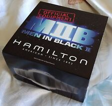 Hamilton Men In Black II H121138911 Wrist Watch Pulsar Digital P2 LCD