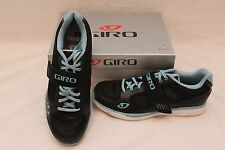 New Women's Giro Whynd Spin SPD Cycling Bike Shoes 36 US 5 Black $100 Teal