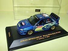 SUBARU IMPREZA WRC RALLYE RAC 2004 P. SOLBERG IXO RAM156 1:43