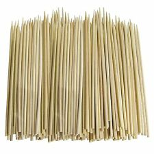 Bamboo Wood Skewers for BBQ, Pack of 80