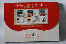 Leanin Tree Christmas Away in a Stable 20 Cards Kathy Goff Holiday Box Envelopes