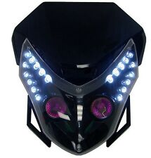 Head Light Dual Sport For Honda CBR F2 F3 F4I F4 Dirt Bike XR CRF Street Fighter
