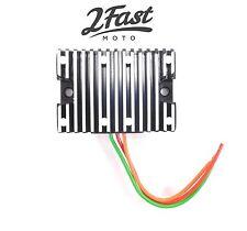 Harley 12V 12 Volt Solid State Voltage Regulator XLH Sportster 900 1000 1965-77