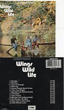 Paul McCartney & Wings - The Beatles Wild Life CD Emi CD-FA 3101 1987 RARE