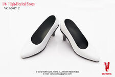 VERYCOOL VCF2017 1/6 Scale white High-Heel Shoes Classic suit Women's shoes