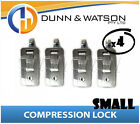 Small Chrome Compression Lock / Handle / Latch (Pop Omega Trailer Canopy ) x4