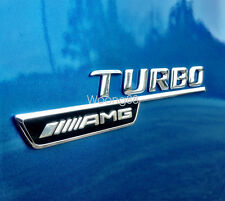Turbo AMG Side Decal Badge Sticker For Mercedes-Benz A B C E S C63 CLA250 CLA45