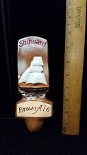 Shipyard Brown Ale, Scooner Tap/Draft Handle Lot 8