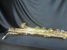 USED JEAN BAPTISTE 686BL BARITONE SAXOPHONE, WITH CASE AND MOUTHPIECE, EXCELLENT